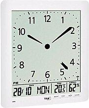 TFA Dostmann Horloge Radio-pilotée avec Horloge