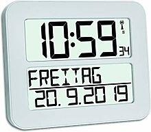 TFA Horloge à Date Radio pilotée Time Max