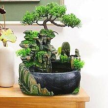 TFCFL Fontaine d'intérieur - Plante verte -