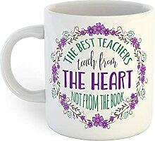 The Best Teachers Tasse à café