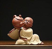 Thé de moine de sable violet thé pour animaux de