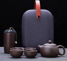 Thé de sable violet Ensemble de thé Kung Fu