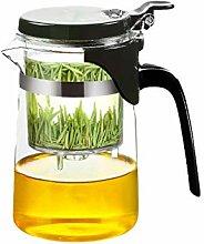 Thé en verre Set élégant tasse de théière
