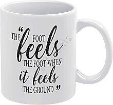 The Foot Feels The Foot Feels The Foot When It