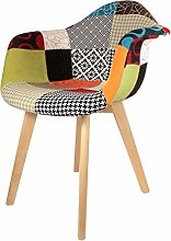 The Home Deco Factory Fauteuil Polyester