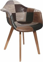 The Home Deco Factory - Fauteuil scandinave