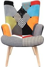 The Home Deco Factory HD3610 Fauteuil Helsinki