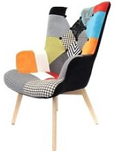 THE HOME DECO FACTORY HD3610 HELSINKI Fauteuil