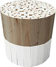 THE HOME DECO FACTORY - HD3715 - Tabouret Rond,