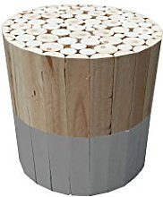 THE HOME DECO FACTORY - HD3716 - Tabouret Rond,