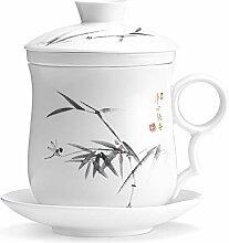 Thé Mug Infuseur Et Couvercle - Tasse Infusion -