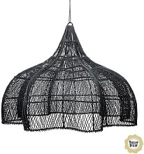 THE RATTAN WHIPPED-Suspension 3 lumières Rotin