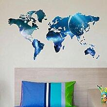 The Star Lollipop Carte du monde Stickers muraux