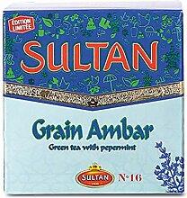 THÉ Sultan Ambar marocain FLIO Thé Vert en Vrac,