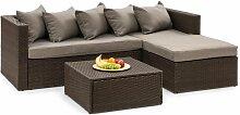 Theia Lounge Salon de jardin canapé d'angle