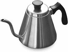 Théière Acier Teapot avec poignée et couvercle