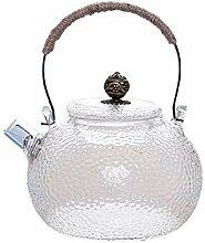 Théière avec infuseur pour thé en vrac,