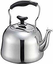 Théière bouilloire en acier inoxydable 304 4 L