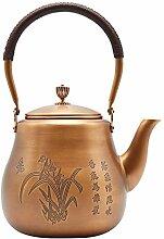 Théière Bouilloire en cuivre Bouilloire à thé