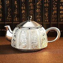 Théière en argent Service à thé en argent
