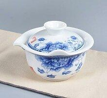Théière en céramique gai wan, ensembles de thé