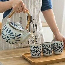 Théière en céramique japonaise, articles de