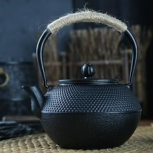 Théière en fer japonais avec infuseur en acier