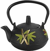 Théière en fonte 10 oz, bouilloire à thé