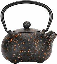 Théière en fonte bouilloire en fer, bouilloire