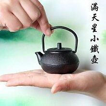 Théière en fonte japonaise, Mini pot en fonte de