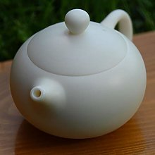 Théière en porcelaine de jade blanche 180 ml