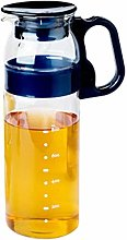 Théière en verre avec couvercle - Pour eau