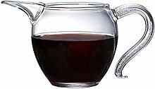 Théière en verre résistant aux températures