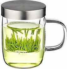 Théière Ensemble de thé en verre Tasses
