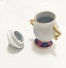 Théière et tasse à théière, tasse et