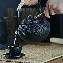 Théière japonaise en fer avec infuseur en acier