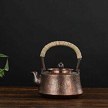 Théière Pot en cuivre fait à la main pur, pot