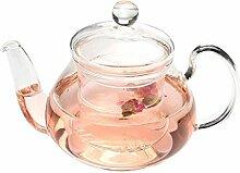 Théière Pot en verre résistant à la chaleur