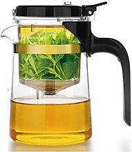 Théière Tasse à thé en verre ménage simple