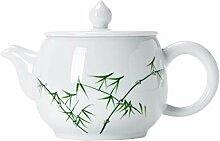 Théière Teapot 200ml / 6,8 oz céramique blanche