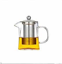 Théière Teapot 900ml Bouilloire en verre avec