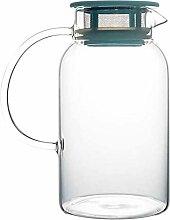 Théière Teapot ménages en verre résistant à