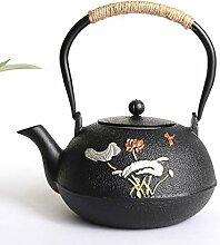 Théière Teapot Théière en fonte en fonte de