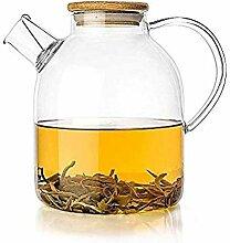 Théière Thé de thé en verre Set transparent