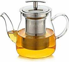 Théière Thé en verre résistant à la chaleur