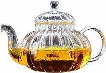 Théière Théière en verre Haut Borosilicate Tea