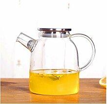 Théière Théière en verre transparent Teapot