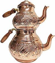 Théière turque ottoman en cuivre - Théière