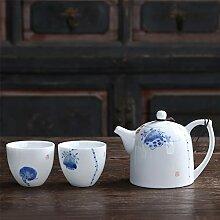 Théières Peint à la main Lotus Art Porcelaine