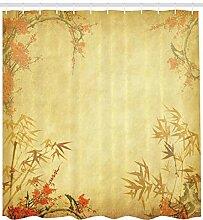 Thème Nature Style rétro Bambou et Fleur de